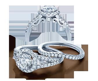 INSIGNIA-7010R - a Verragio engagement ring.