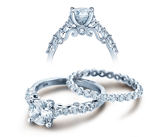 INSIGNIA-7034 - a Verragio engagement ring.