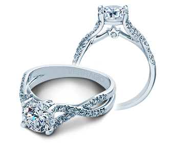 COUTURE-0374 - a Verragio engagement ring.