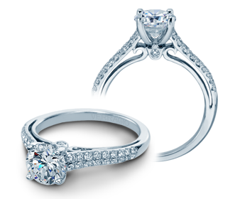 COUTURE-0382R - a Verragio engagement ring.