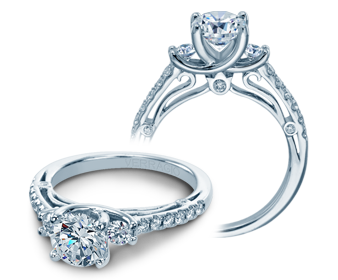 COUTURE-0397 - a Verragio engagement ring.