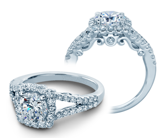 INSIGNIA-7046 - a Verragio engagement ring.