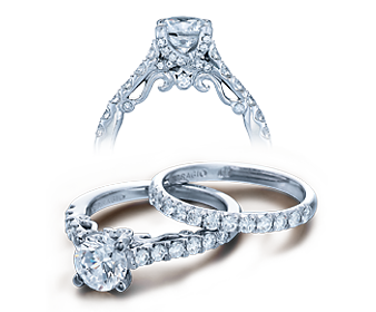 INSIGNIA-7054 - a Verragio engagement ring.