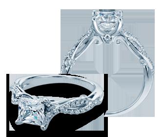 INSIGNIA-7050 - a Verragio engagement ring.