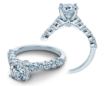 COUTURE-0410LR - a Verragio engagement ring.