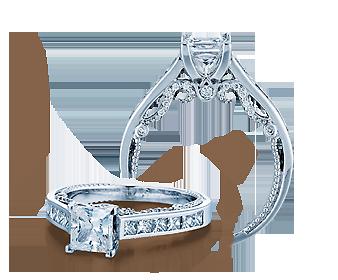 INSIGNIA-7064P - a Verragio engagement ring.