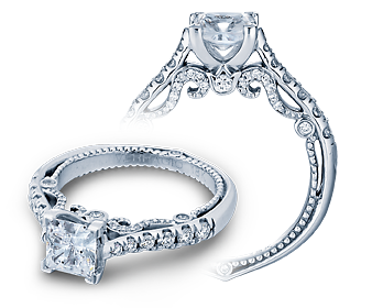 INSIGNIA-7066P - a Verragio engagement ring.