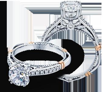 PARISIAN-101M - a Verragio engagement ring.