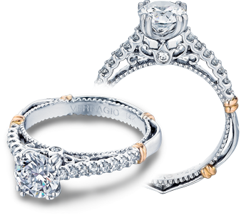 PARISIAN-103S - a Verragio engagement ring.