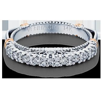 PARISIAN-113W - a Verragio wedding ring.