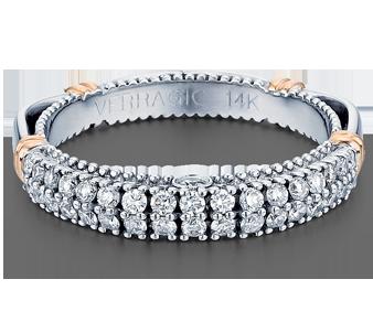 PARISIAN-115W - a Verragio wedding ring.
