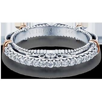 PARISIAN-121W - a Verragio wedding ring.
