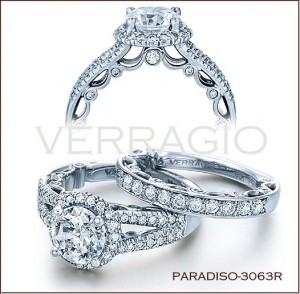 Paradiso-3063R Diamond Engagement Ring