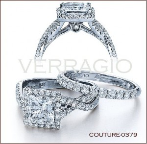 Couture-0379 diamond engagement ring from Verragio