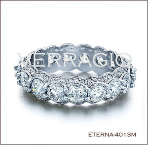 Eterna-4013M Diamond Wedding Ring from Verragio