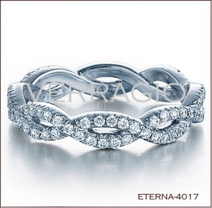 Eterna 4017 diamond eternity band 