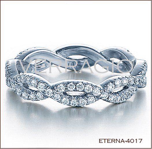 Eterna 4017 Diamond Eternity Band. ETERNA 4017