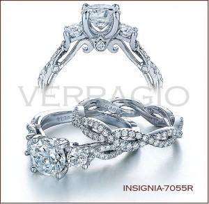 Insignia-7055R diamond engagement ring from Verragio
