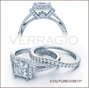 Couture-0381P diamond engagement ring from Verragio