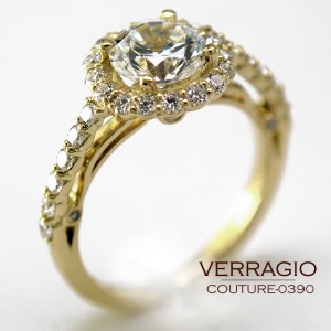 Diamond Engagement Rings by Verragio: Couture-0390