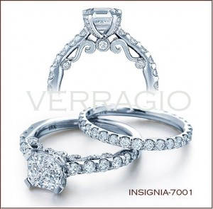Insignia-7001 diamond engagement ring from Verragio