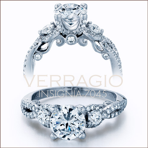 Insignia-7045 engagement ring from Verragio