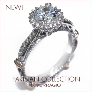 Engagement rings from the new Parisian Collection