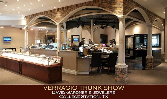 Verragio Trunk Show at the David Gardners Jewelers 