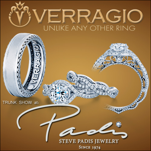 Verragio Trunk Show at the Steve Padis Jewelers in San Francisco, CA