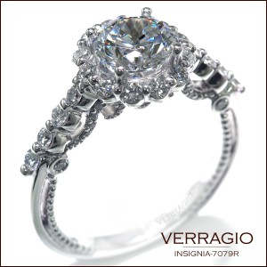 Engagement rings by Verragio: Insignia-7079R