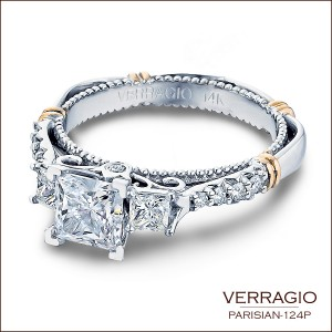 Engagement rings by Verragio: Parisian-124P