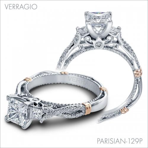 Parisian Engagement Rings: 129P