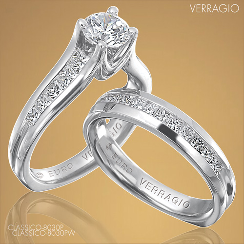 Engagement rings by Verragio: Classico-8030P
