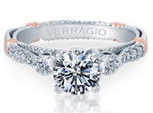 PARISIAN-124R - a Verragio engagement ring.