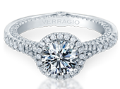 COUTURE-0424DR - a Verragio engagement ring.