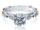 PARISIAN-CL-DL100 - a Verragio engagement ring.
