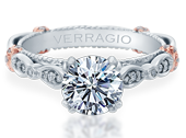 PARISIAN-DL100 - a Verragio engagement ring.