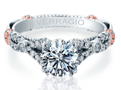 PARISIAN-DL102 - a Verragio engagement ring.