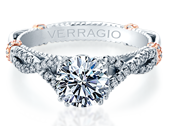 PARISIAN-DL105 - a Verragio engagement ring.