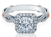 PARISIAN-DL106P - a Verragio engagement ring.