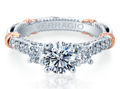 PARISIAN-138R - a Verragio engagement ring.