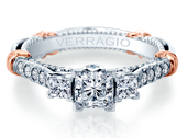 PARISIAN-138P - a Verragio engagement ring.
