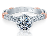 PARISIAN-140R - a Verragio engagement ring.