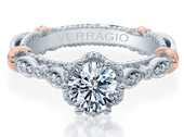 PARISIAN-141R - a Verragio engagement ring.