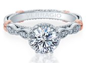 PARISIAN-151R - a Verragio engagement ring.