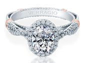 PARISIAN-152OV - a Verragio engagement ring.