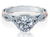PARISIAN-153R - a Verragio engagement ring.