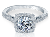 INSIGNIA-7047 - a Verragio engagement ring.