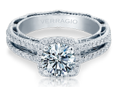 VENETIAN-5007CU - a Verragio engagement ring.