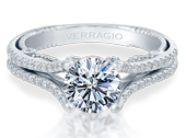 INSIGNIA-7063 - a Verragio engagement ring.